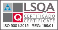 Certificado de calidad LSQA